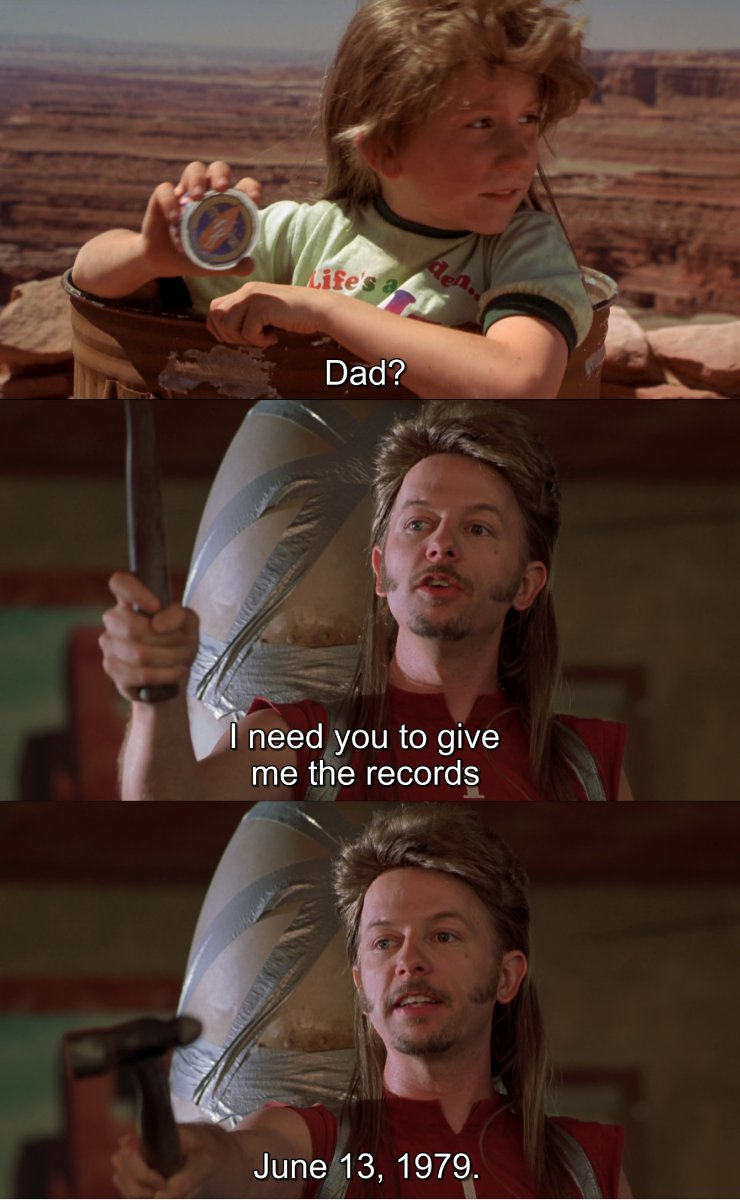 Dates In Movies On Twitter Jun 13th 1979 Joe Dirt And His Family Visited The Grand Canyon His Parents And Sister Re Boarded The Tour Bus Without Him Leaving Him Stranded There With tenor, maker of gif keyboard, add popular joe dirt sister animated gifs to your conversations. jun 13th 1979 joe dirt