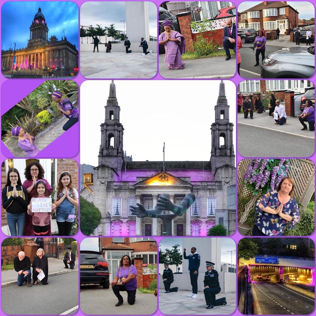 So much happened in a week. Tears, anger, pain and insults but for every night time, joy comes in the morning. Thank you Jeff Coupar for putting these lovely pictures together reminding us to #chooselovenothate #8for8 @cllrjudithblake @LordMayorLeeds @debracoupar @leedsafrican