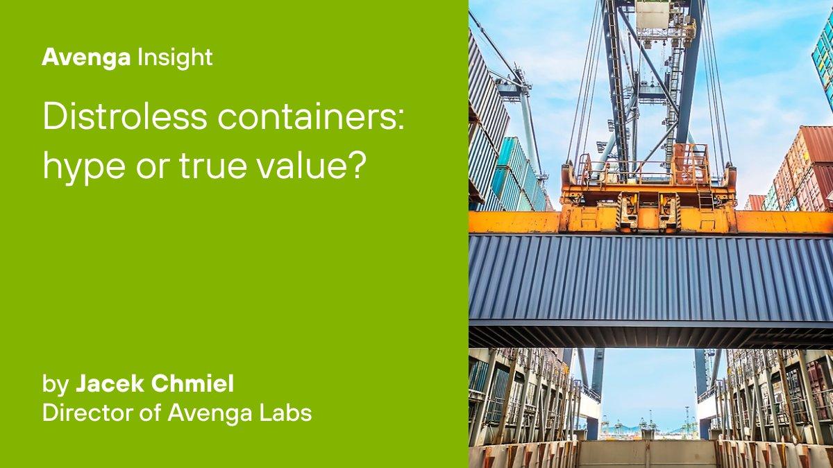 Wie sicher sind #Distroless #Containers und welchen praktischen Nutzen bieten sie? Eine @hackernoon Analyse von @jacekchmiel aus dem #Avenga R&D Team: https://t.co/MAdP76Cor0 https://t.co/zVgySIWym4