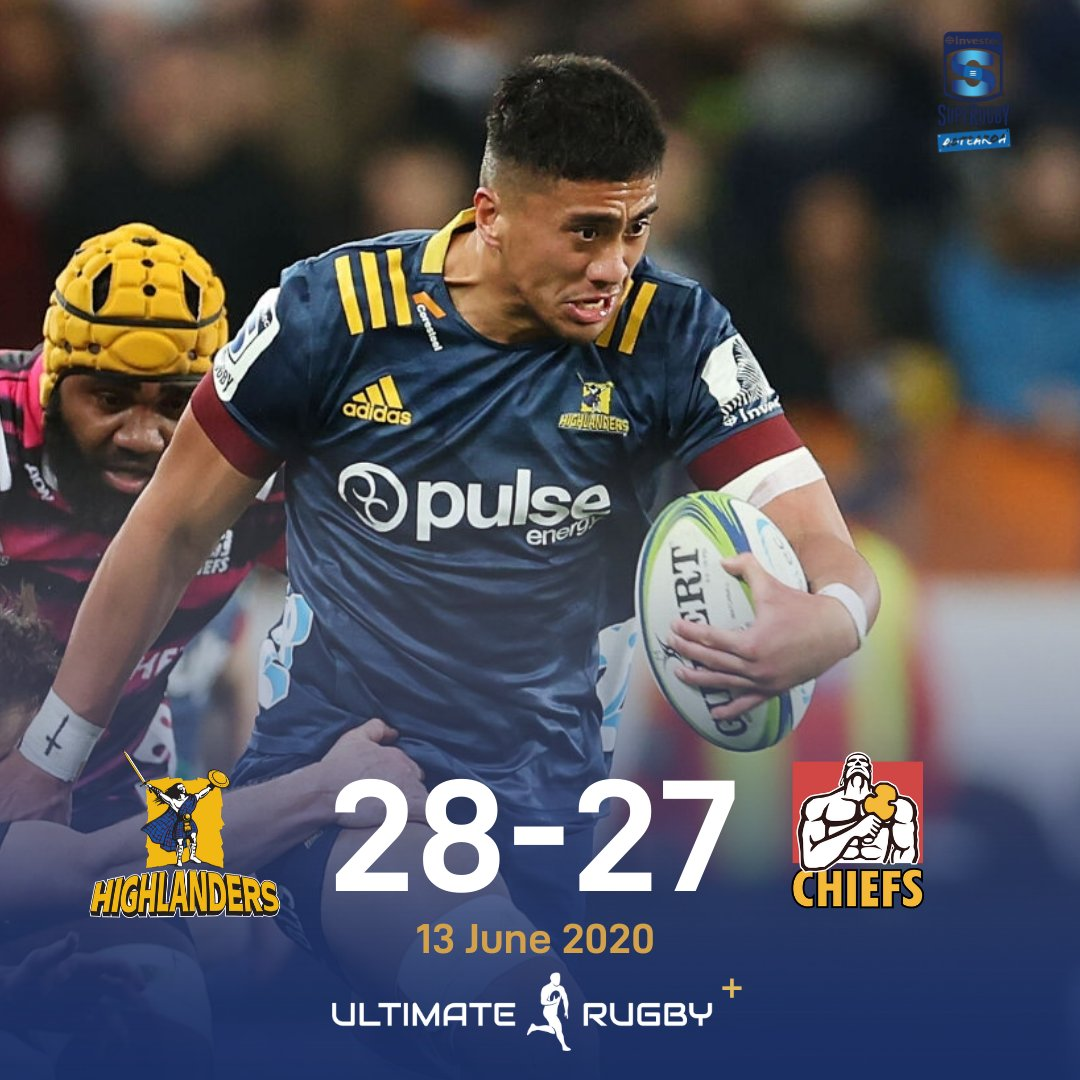 WHAT A GAME!!! WHAT A RESULT!!! Bryn Gatland denies his old man a win in the opening game of #SuperRugby Aotearoa 🔥 #HIGvCHI