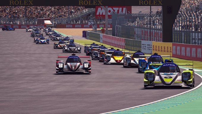 Virtual Le Mans: 2 Seas leads LMP while Porsche tops GTE field