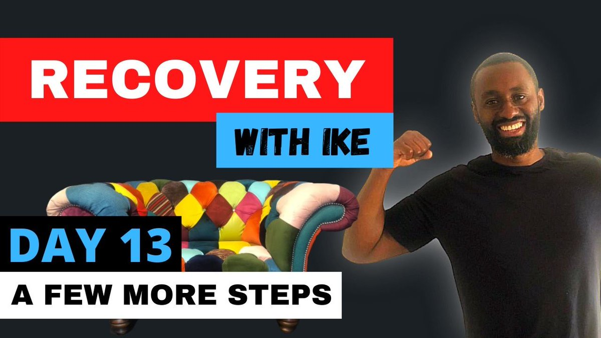 Day 13 - A Few More Steps #RecoveryWithIke .  #ChildOfGod #ChildOfGodTeam #ChildOfGodMovement #Recovery #Drugs #Alcohol #ThankYou #Blessed #GodBless #StaySafe #Addiction #Life #MyStory #MyJourney #Support #Donate #MasksForAfrica #MasksForNHS  https://t.co/teHhRhCAUU https://t.co/cUaSi8D2mv