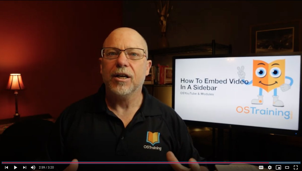 """OSTips: How To Embed Video In A Joomla Sidebar  All you need is a single plugin from @joomlashack and a single """"option"""" choice in @joomla!   http:// ow.ly/G9iL50A3n0n      #joomla #joomlers #joomlatips #ostraining #ostrainingofficial #joomlashack #webdesigners #osyoutube<br>http://pic.twitter.com/vJQlFqkjCg"""