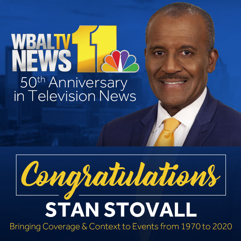 CONGRATULATIONS STAN!! Stan Stovall celebrates 50 years in broadcast journalism today.