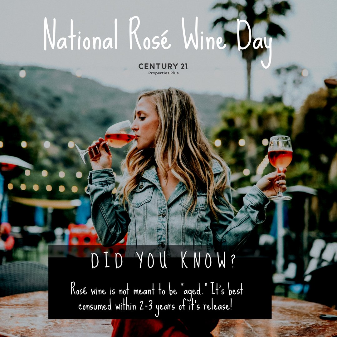 Is this a real thing? National Rose Wine Day! #winedaysaregooddays https://t.co/hEhNKJ9ET9