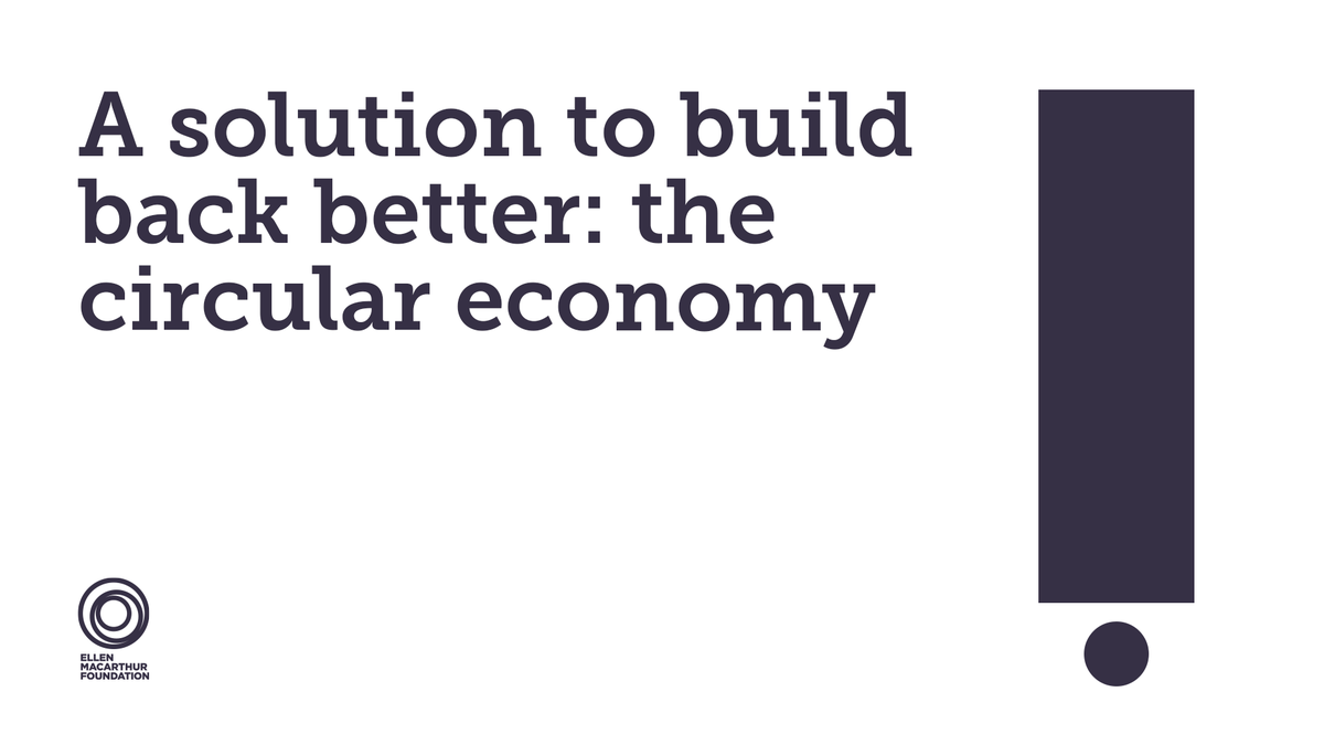 Today we have signed Ellen MacArthur Foundation's statement to #buildbackbetter with the #circulareconomy and call on more businesses and governments around the world to join us on the journey towards circularity. @circulareconomy   https://t.co/TyQB0TaJUI https://t.co/2LfWre10WQ