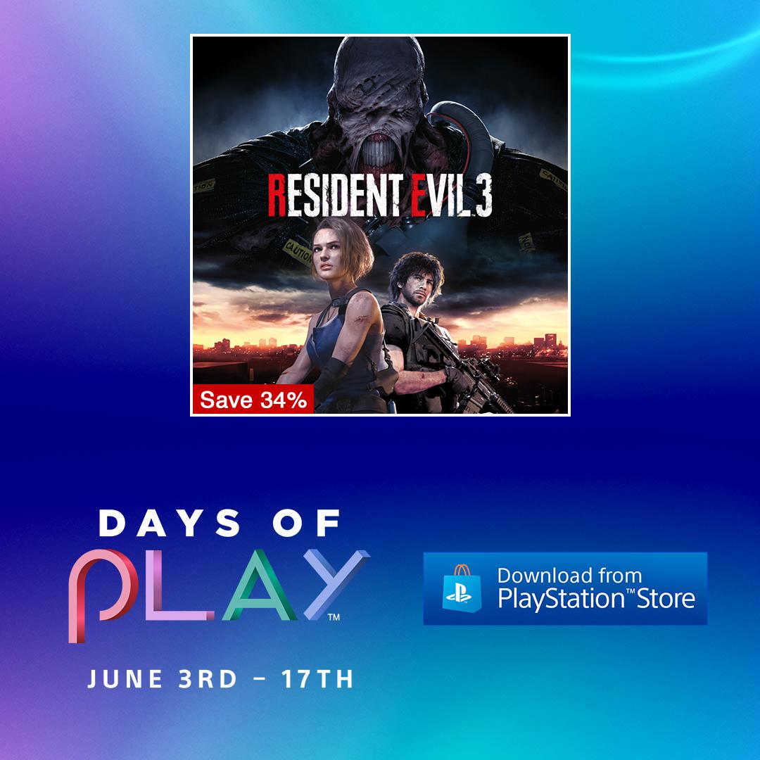 Enjoy great discounts on Capcom games via @PlayStation's DAYS OF PLAY!  🌿 https://t.co/iIzIr5vWwb ❄️ https://t.co/YVeVYQCkX7 😈 https://t.co/cXKpLm3rWB 🥊 https://t.co/tZQiXRgq2Q  Up to 60% off! https://t.co/5u15ZIE6D4 https://t.co/zqAtt1o8kJ