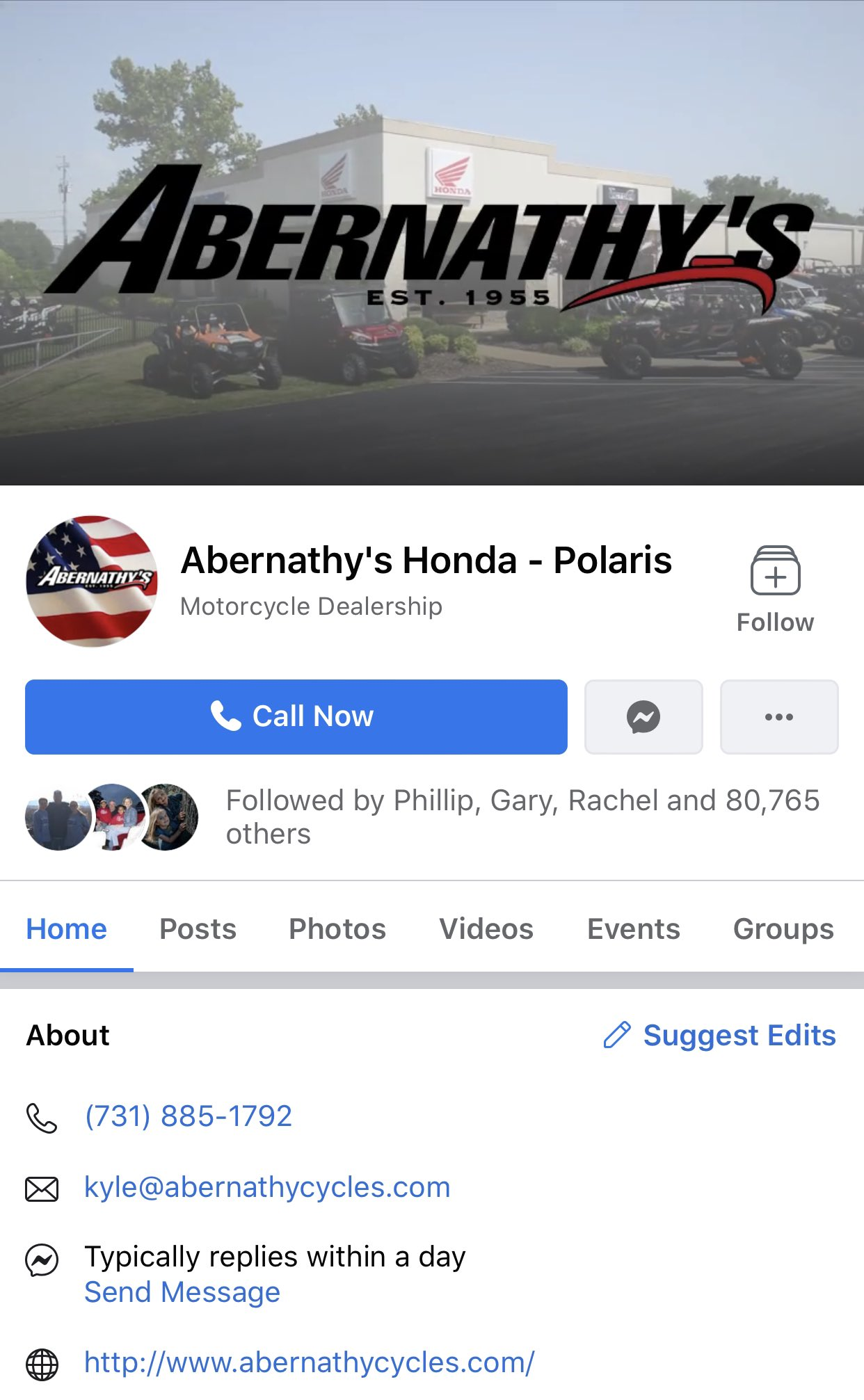 the tennessee holler on twitter union city tn russell abernathy whose dealerships sell harleydavidson honda and more wants you to know he s super duper racist and you should probably by your motor the tennessee holler on twitter union