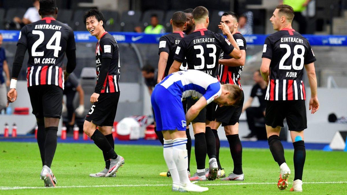 Xem lại Hertha Berlin vs Frankfurt Highlights, Bundesliga – 13/06/2020