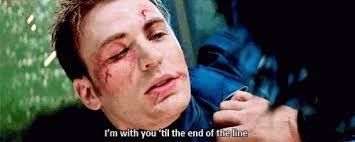 Happy Birthday to Chris Evans too and my favorite scene of him would be this.