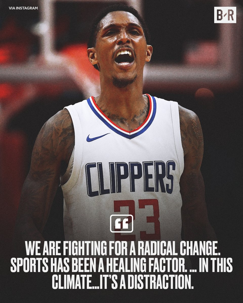 Lou Will on why he thinks the NBA's return is a distraction https://t.co/Wo8BThOCZ1