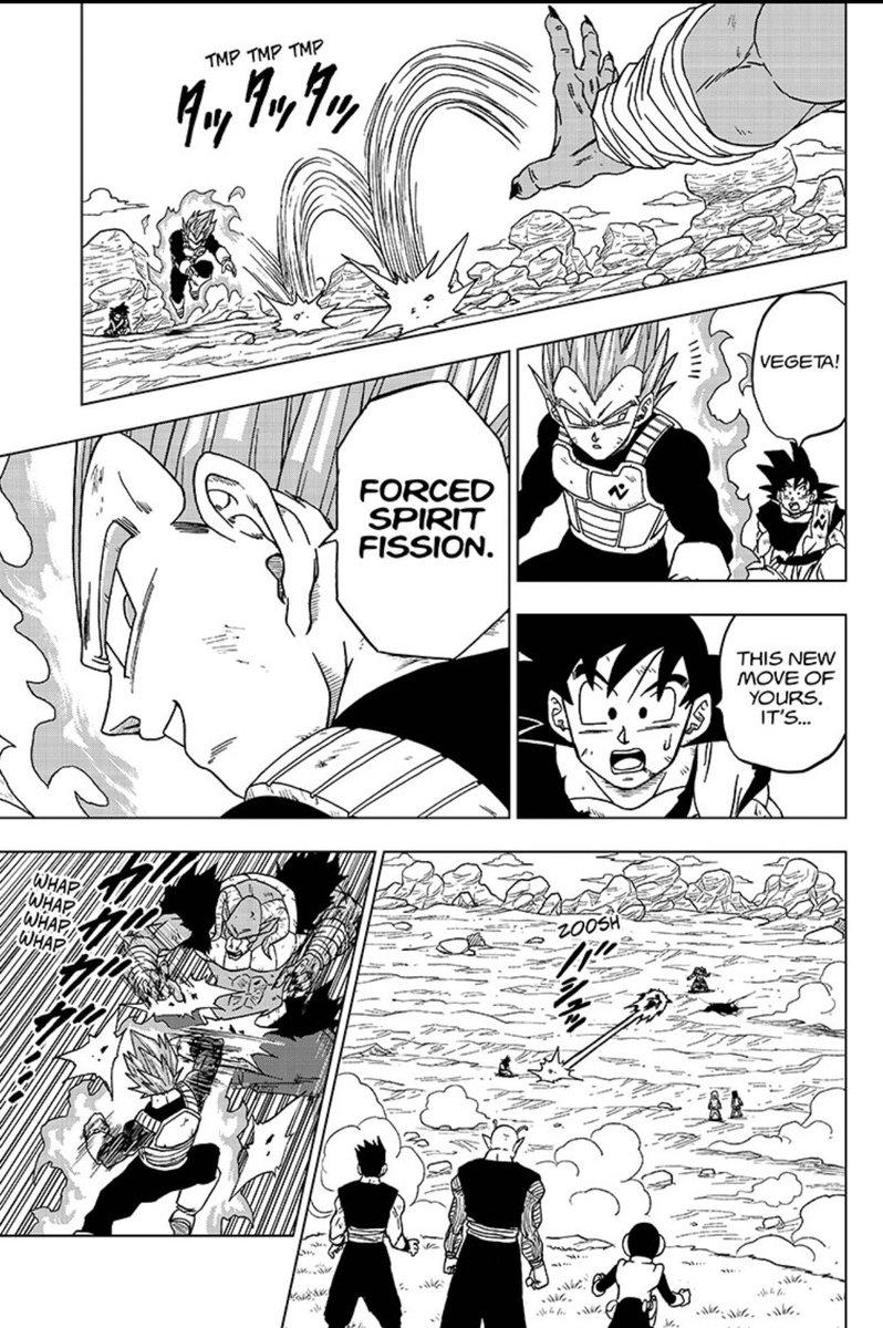 """Singh on Twitter: """"Vegeta's New Move Forced Spirit Fission #Vegeta #Moro #Dragonballsuper #dragonballsuper #vegeta #anime… """""""