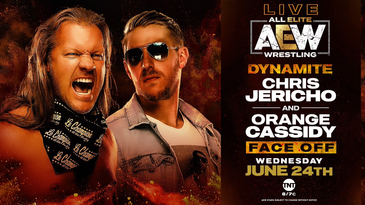 AEW Announces Chris Jericho & Orange Cassidy Face Off For Wednesday's AEW Dynamite