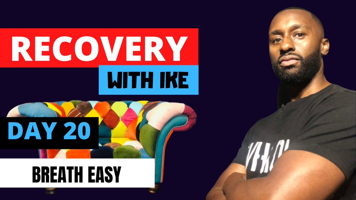 Day 20 - Breath Easy • #RecoveryWithIke.  #ChildOfGod #ChildOfGodTeam #ChildOfGodMovement #Recovery #Drugs #Alcohol #Gambling #ThankYou #Blessed #Grateful #GodBless #Addiction #MyStory #MyJourney #Support #ReachOut #GetInTouch  https://t.co/oMpoQmoBws https://t.co/A6bPTEz77X