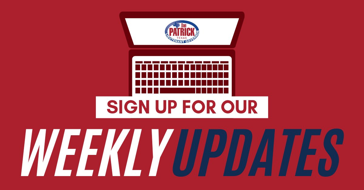 Are you on our email list? Sign up to receive weekly updates: https://t.co/bw7imBrYPo  #txlege https://t.co/OP32yGy7fj