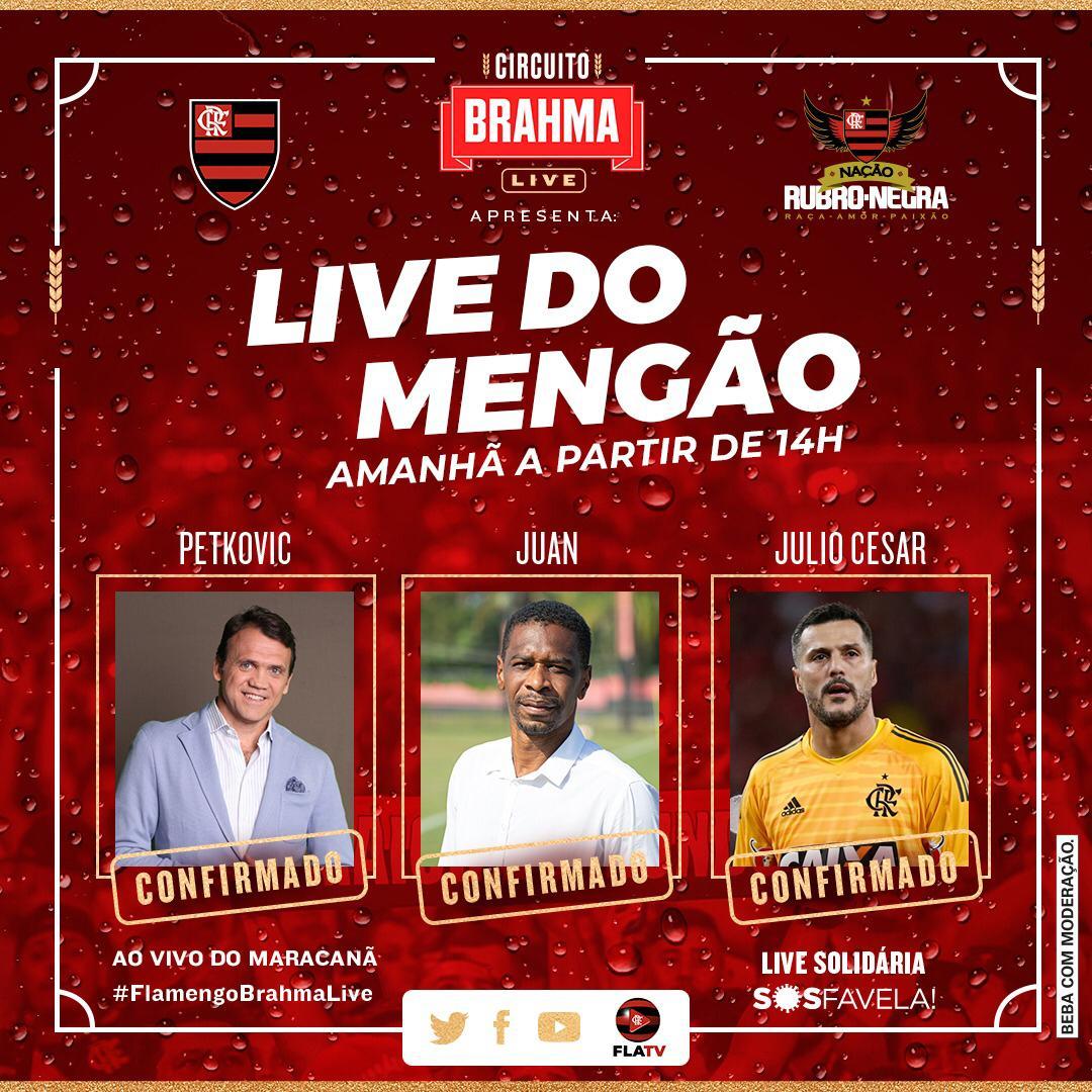 É o maior do mundo em casa!  @BrahmaCerveja #FlamengoBrahmaLive #AprecieComModeração #ad https://t.co/SuJLPHc1IB