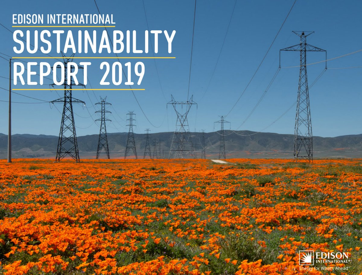 Since the successful launch of our #ChargeReady program in 2016, we have expanded the program to support up to 2,700 charging ports for light-duty vehicles. 🔌🚘 Read about our commitment to an electric-led future in our 2019 Sustainability Report: https://t.co/q7D7FtXVoQ https://t.co/g9jtKcq13r