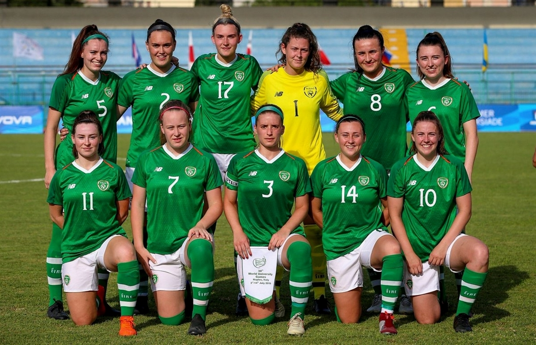 RESULT   Ireland are into the Semi-Final of the @Napoli2019_ita after beating China 4-1 on penalties!  Their adventure continues #COYGIG #WUG19IRL #Napoli201pic.twitter.com/yxPEOWv2y5