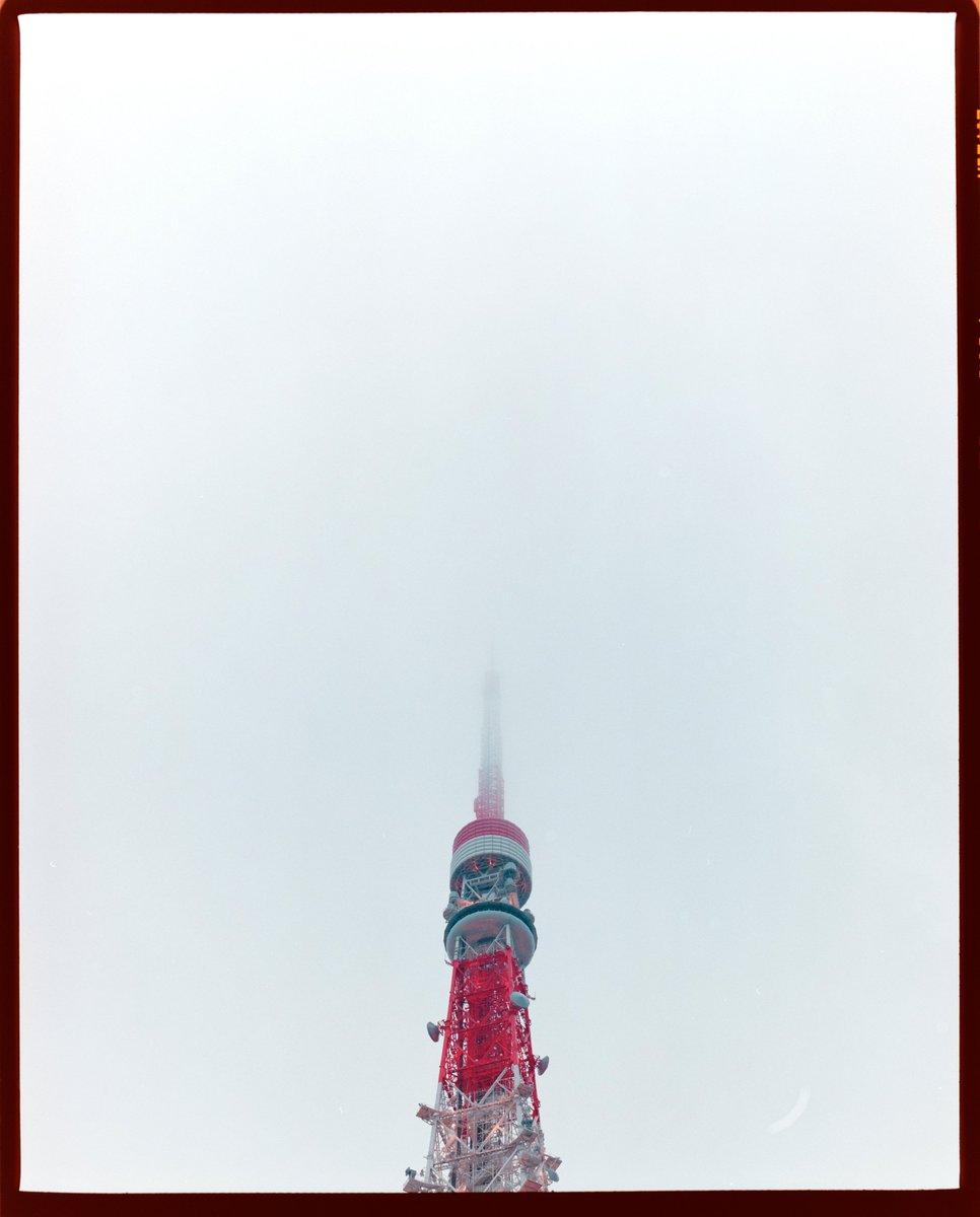 こないだ東京で雪降った日です。  #東京タワー #pentax67 #pentax #120film #filmphotography #film #フィルム #フィルム写真 #japan https://t.co/hZoV5y6ipk