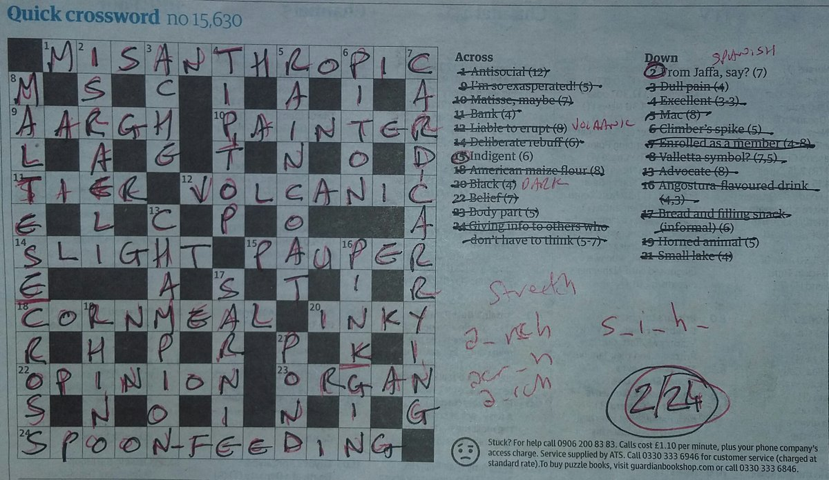 Stewart Killala On Twitter And Wednesday S Crossword Keeps The Hot Streak Going As We Only Had To Cheat On A Twelfth Of The Clues Two Out Of 25 The Little Grey Cells