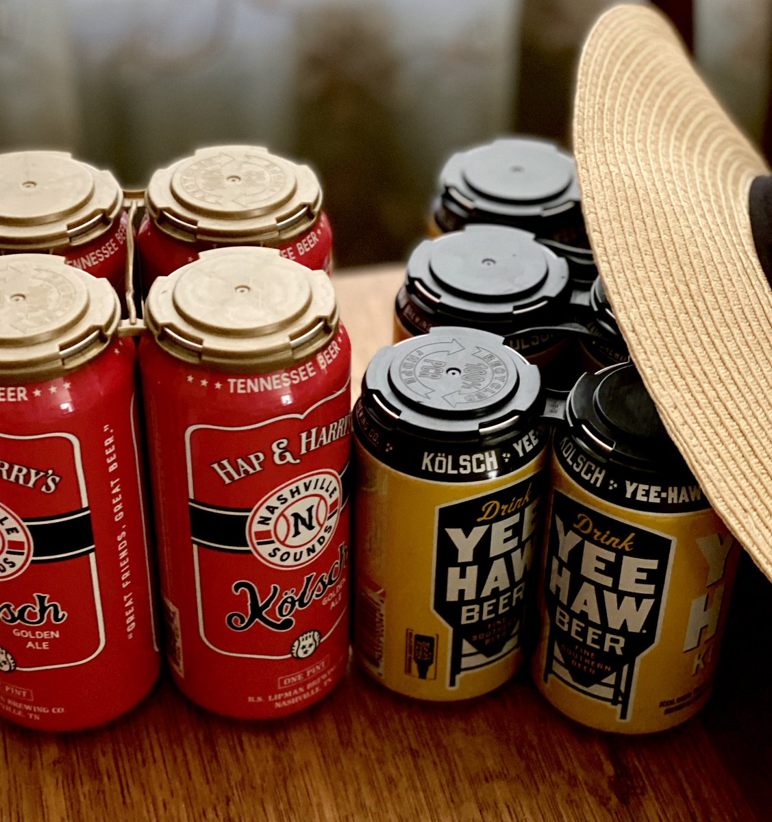 Fav summer beer... a crisp cold kolsch 🍻 oh, and support your local breweries! #CraftBeer #supportyourlocalbrewer #shoplocal https://t.co/Ugety5tsV8