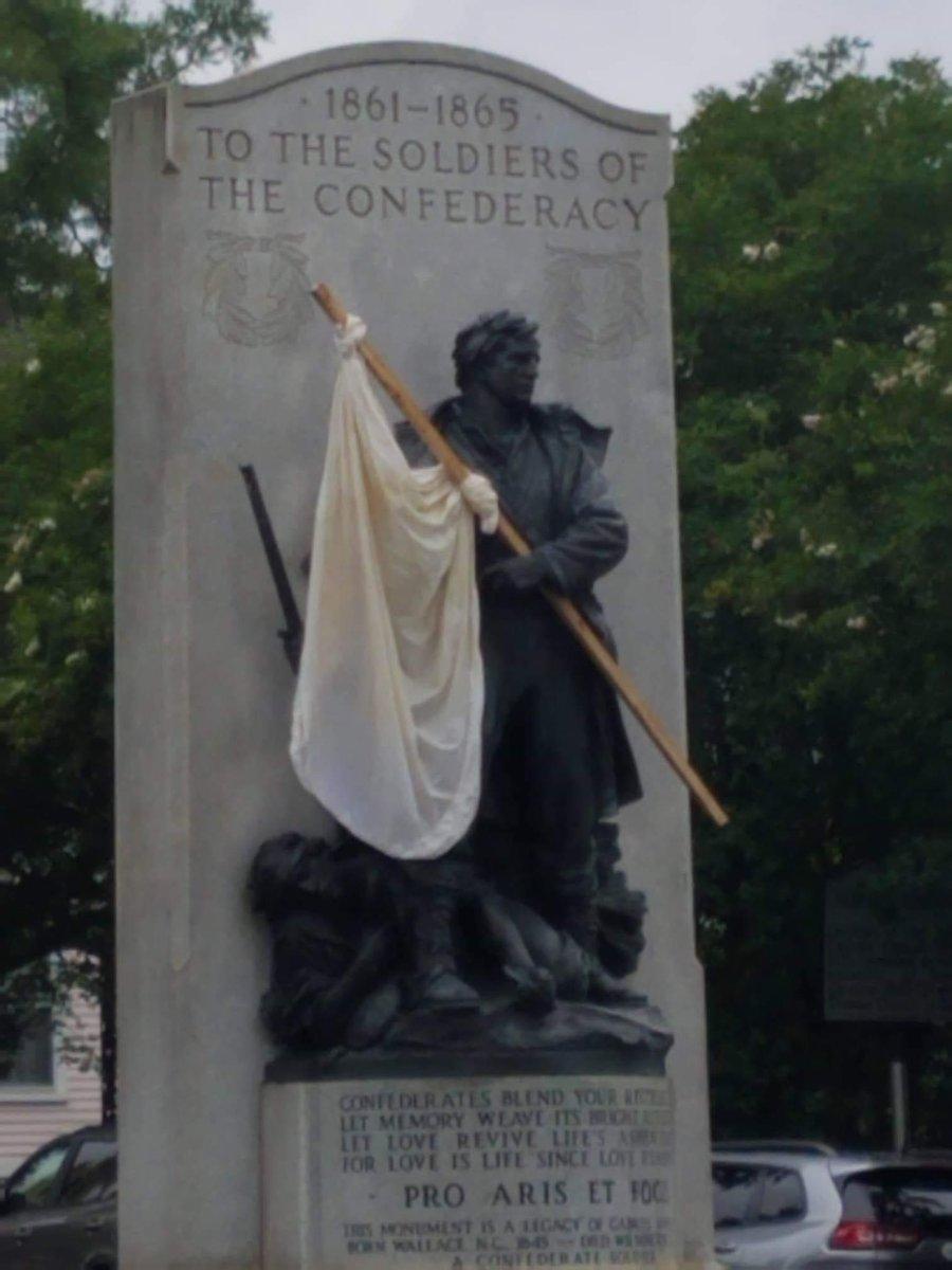 Памятник солдатам конфедерации в Северной Каролине.