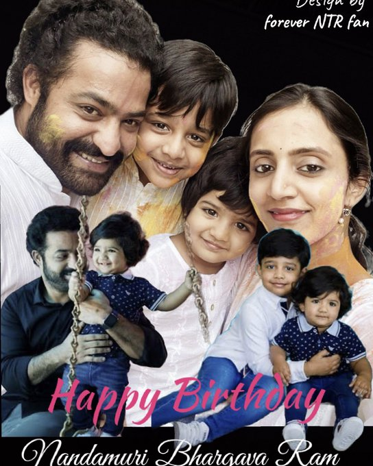 Wishing a  Happy Birthday to our little Prince  Nandamuri Bhargava Ram