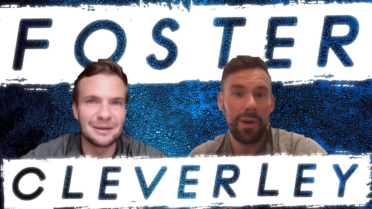 #TheWaitisOver  #SBTPodcast with @watfordFC's @BenFoster and Tom Cleverley on the @rioferdy5 & #Vidic partnership, playing with #PaulScholes and retirement plans!  WATCH - https://t.co/qK1F0ERQyO https://t.co/3VuakYCrfA