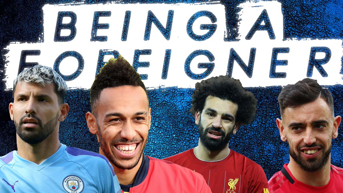 What is it really like to move to a different country to play football? @adamcarruthers finds out how the likes of Aguero, Bruno, Salah and Auba adapted  ....  WATCH HERE -  https://t.co/4cXmBRD2zA  #sbtpodcast #thewaitisover https://t.co/2zULGfL2um