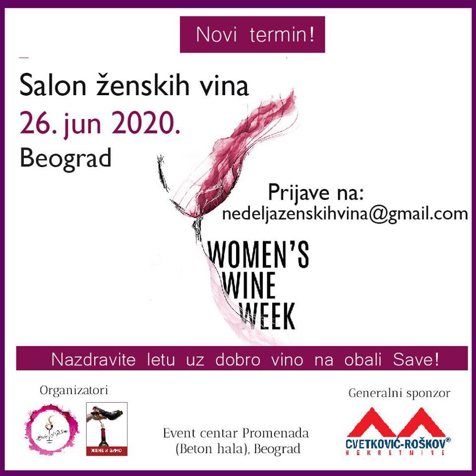 Women's #Wine Week - Women's wine #salon  Friday 26 June 16.00 - 22.00h PromenadaEventCentar, #Belgarde, #Serbia Serbia See You #ladies  !  https://t.co/zoNIfJHtFG https://t.co/2VjEvNhad2