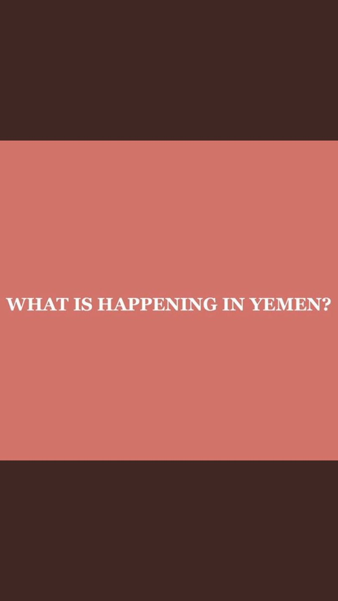 What's happening in Yemen 🇾🇪 & a thread of petitions you can sign to help #YemenCrisis https://t.co/W9r9latUMT
