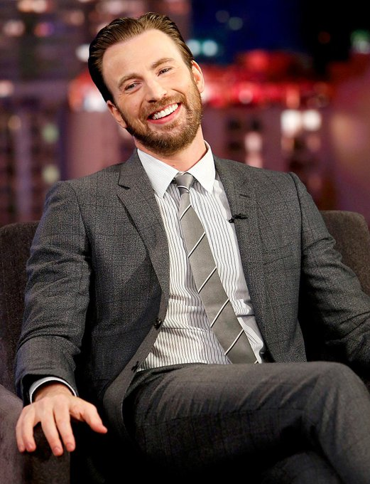 A little too late, but Happy Birthday (13th June) the talented, playful, heroic, and handsome Chris Evans.