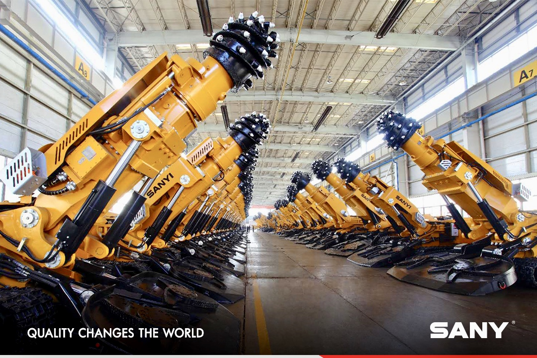 SANY roadheaders, let quality and service do the talking. #SanyProduct #Roadheader #Mining https://t.co/ziH5oMS7GK https://t.co/q3t4wVmdii