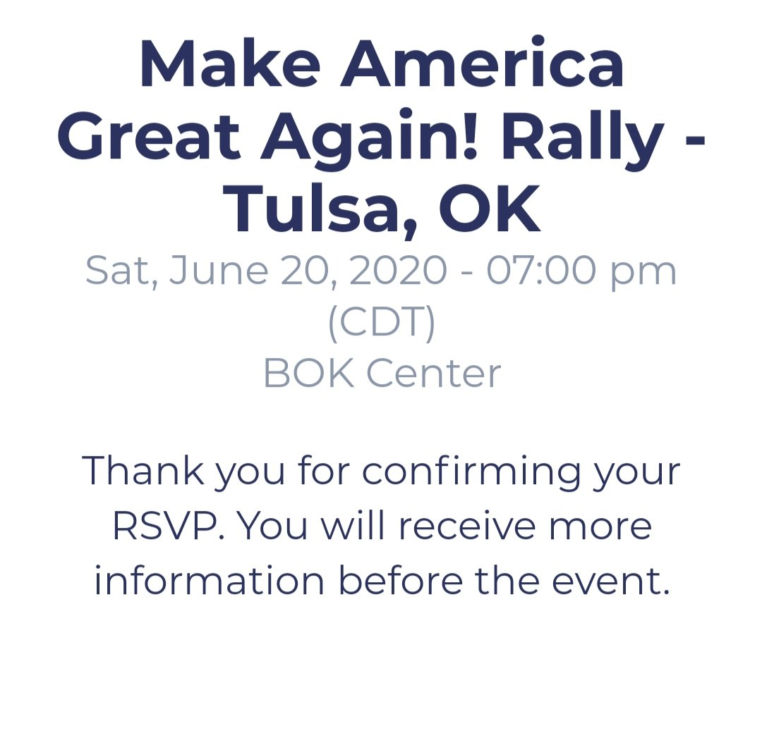Just doing my part to make America better.   Reserving tickets that I don't plan on using.  No Show. #TrumpWearsAdultDiapers https://t.co/043erHwT0c