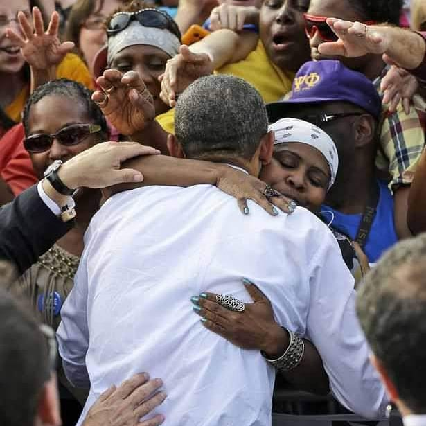 @BarackObama My absolute favorite picture! My BFF @SHANA_PHILLIPS in #Dayton #2012 #LoveYouObama #44EverMyPresident #44Ever <br>http://pic.twitter.com/mB3Nk2GyFw