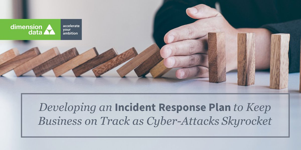 Effective #IncidentResponse requires a coordinated and organised approach. Our #cybersecurity expert, Ronald Powell shares his top tips to help you build an #IR plan that effectively mitigates threats and prevents the recurrence of incidents https://t.co/56bzzXfjFH https://t.co/gmINcOW1Sr