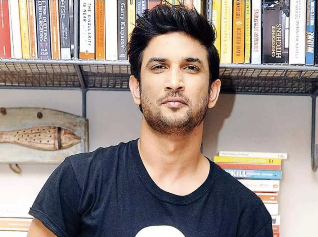The young handsome and talented actor @itsSSR  has committed suicide. May God bless his soul, Rest in peace. We always post pictures and feel sad when someone has gone but never care when those are alive. Friends do love and care for each other as much as you can🙏🙏 https://t.co/baiqRLH9Hs