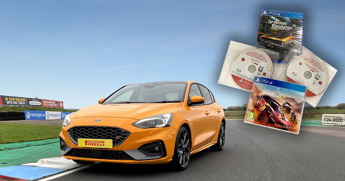 COMPETITION TIME: Head over to our Facebook page for a chance to win a Ford Focus ST One-2-One driving experience and some PlayStation4 games.  https://t.co/T0B8wiiHeA  Competition closes Wednesday 17 June. Good luck!  #CompetitionTime #Playstation4 #Ford https://t.co/jILBmc2NKr