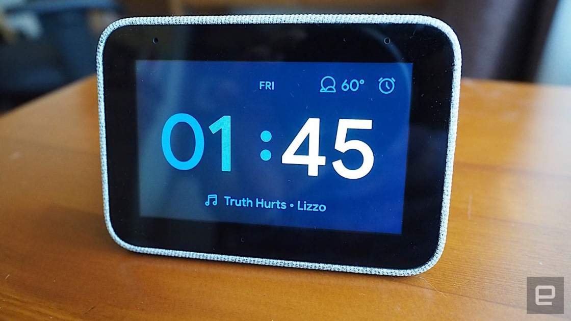 Get a Lenovo Smart Clock for $40 at Best Buy