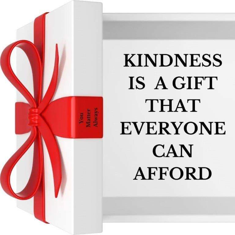 KINDNESS COSTS NOTHING BUT CAN MEAN EVERYTHING 💜💜💜 #YouMatterAlways #kindnessisalwaysinseason #spreadalittlekindness #kindnessmatters #ifyoucanbeanythingbekind #betheonewhocares #takethetimetocare #beanicehumanbeing https://t.co/1YRrrP3YSZ