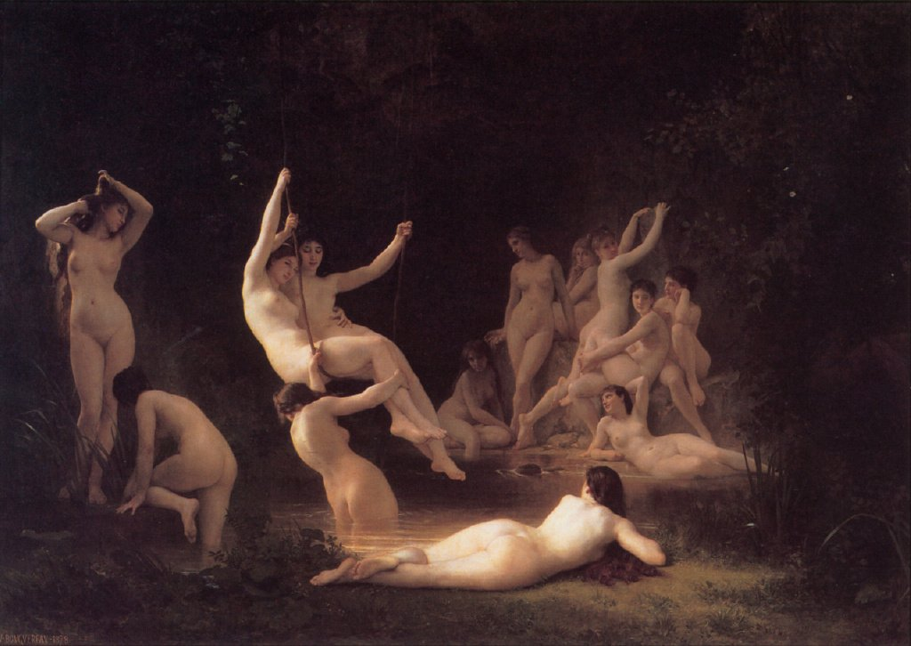 William-Adolphe Bouguereau (30 November 1825 – 19 August 1905) was a French academic painter.
