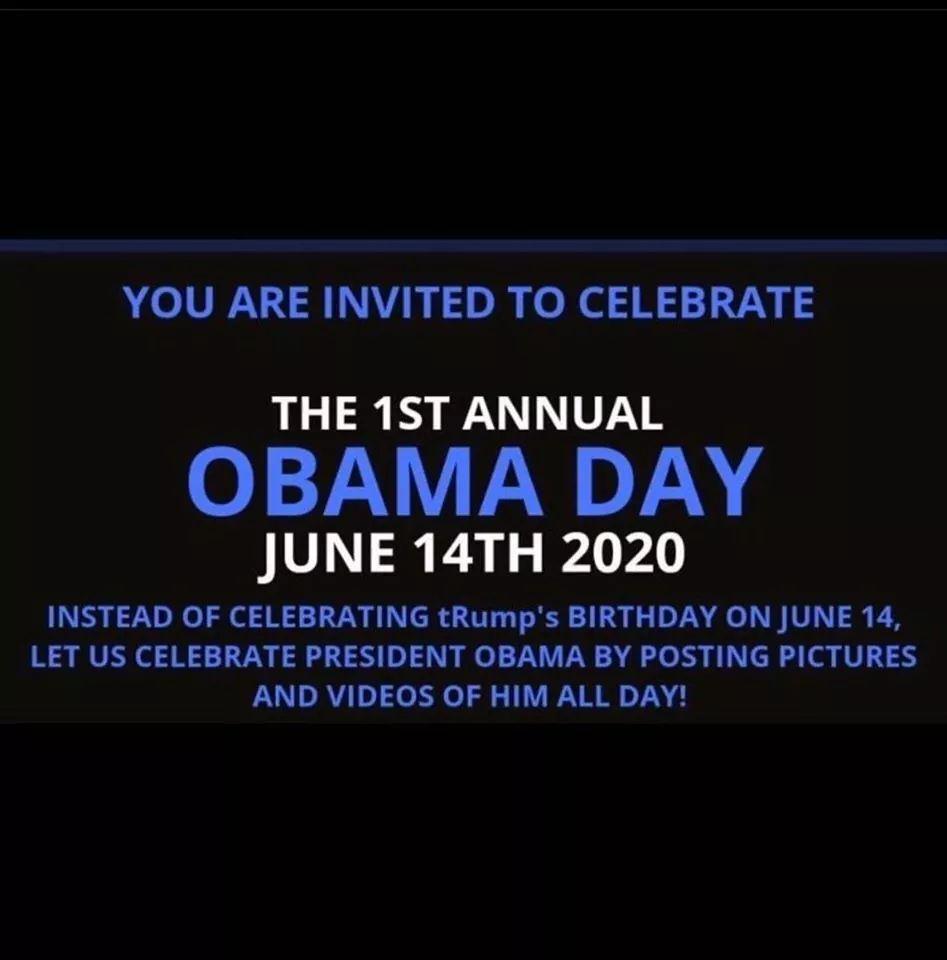 #ObamaDayJune14th #ObamaAppreciationDay #ObamaDay