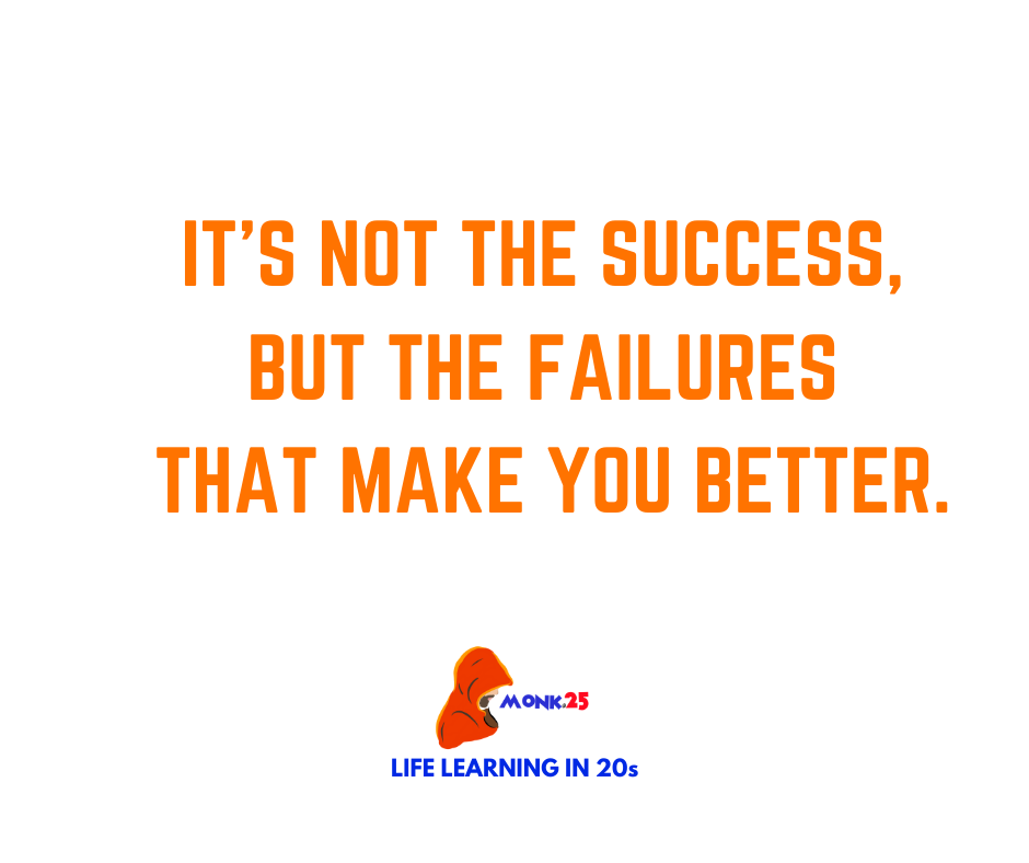 It's not the success, But the Failures that make you better.  . . #morningmotivation #success #successquotes #failure #lessons #LifeLessons #lessonlearned #growthmindset https://t.co/nWNbkR916t