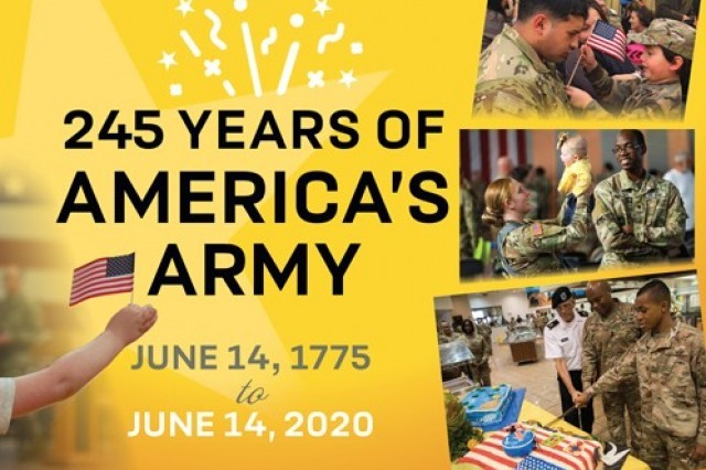 .@USArmy was founded on June 14, 1775, when the Continental Congress authorized enlistment of expert riflemen. Soldiers have been answering the Nation's call ever since. Join me in wishing them a happy 245th birthday. #ArmyBDay