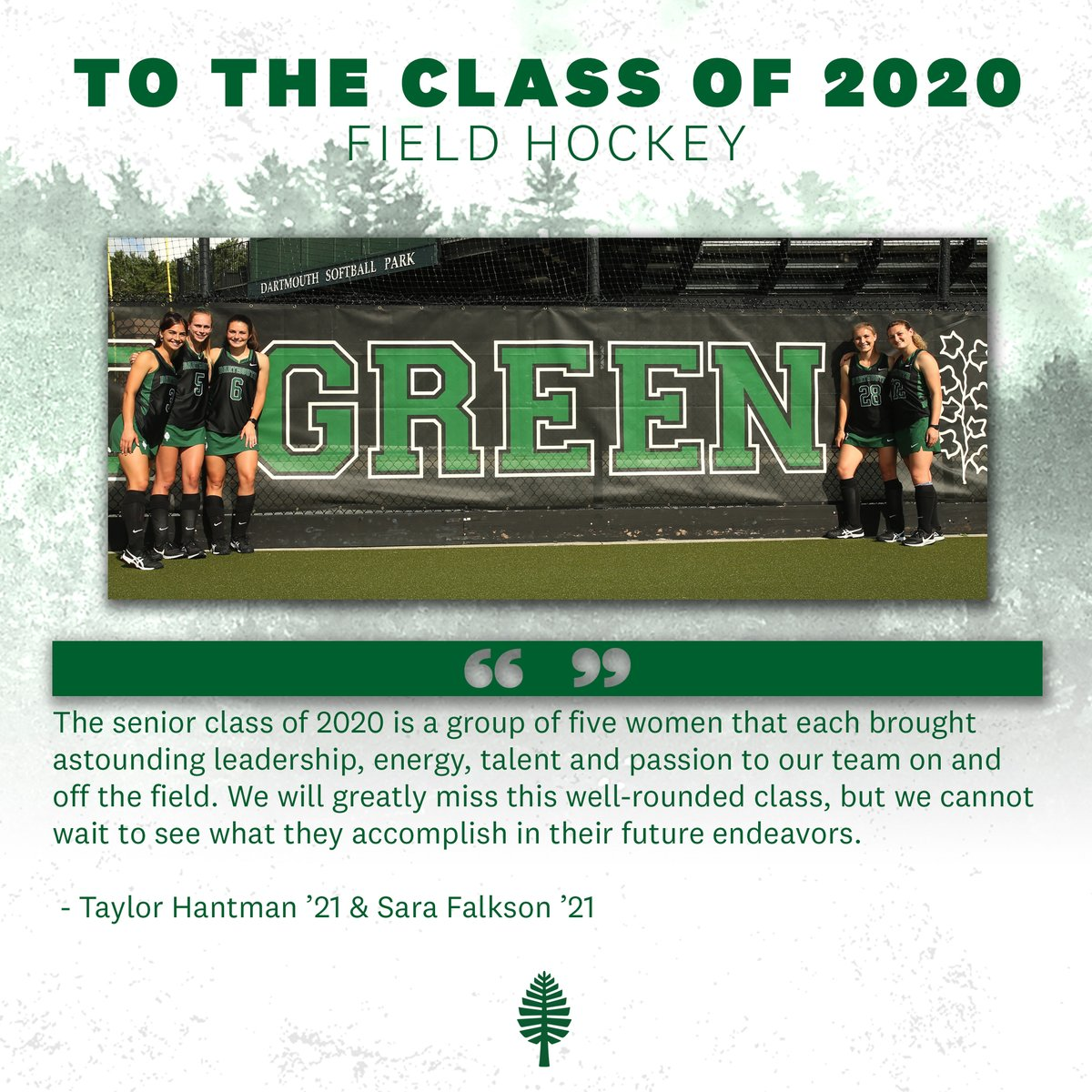 To our @DartmouthFH seniors: https://t.co/BF90rSr4HN