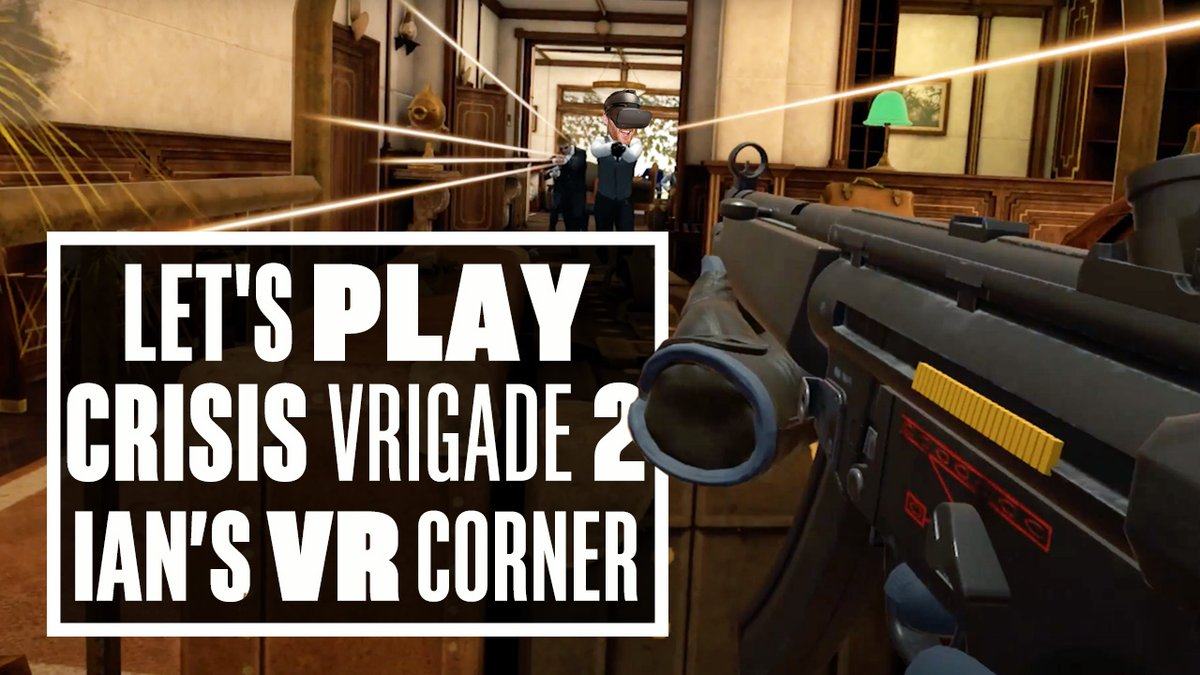 Eurogamer On Twitter You Ll Need To Call In The S Q U A T Team For This Week S Episode Of Vr Corner Because Ian S Been Getting His Crouch On In Crisis Vrigade 2 This Time Crisis
