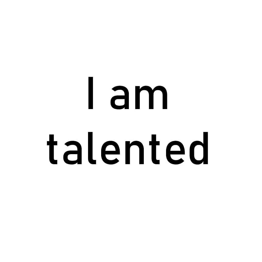 I am talented . . . . . #vidyasury #affirmations  #dailyaffirmations #positivevibes #mindfulness #selflove #selfcare #personaldevelopment #instadaily #collectingsmiles https://t.co/p6tKAZr3Yu https://t.co/r3R24SOJvX