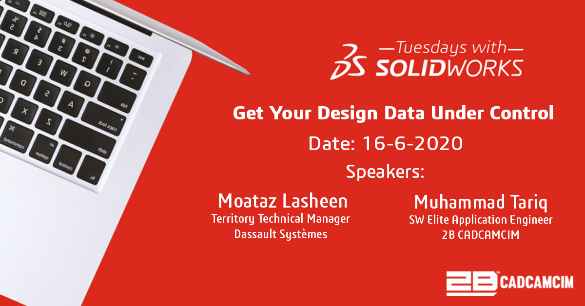 Don't miss to register for  Tuesday's webinar to learn how SOLIDWORKS PDM solutions  Join us Now: https://t.co/fWjwpWti3C #2BCADCAMCIM #SOLIDWORKS #PDM #TUESDAYWITHSOLIDWORKS #webinar #joinus https://t.co/IkFSxU2FB9