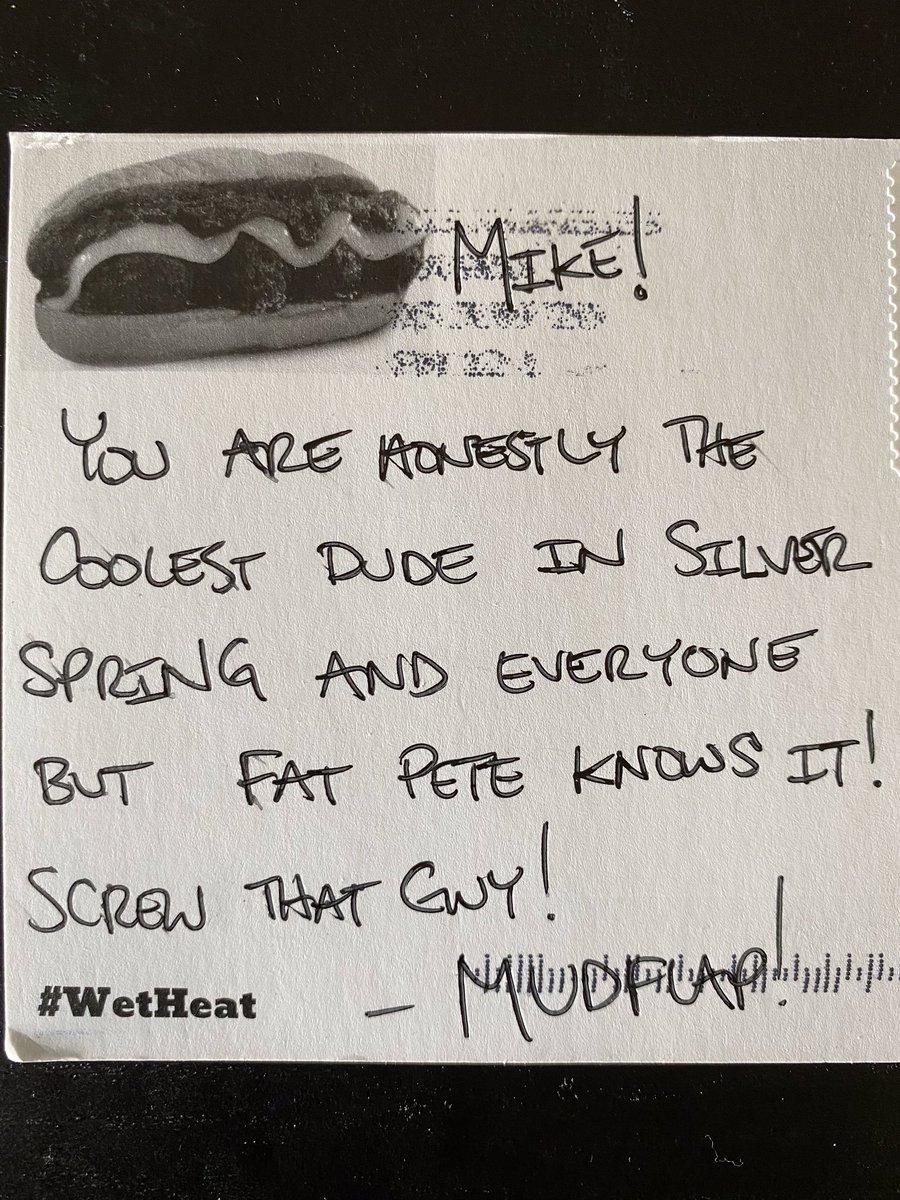 @MarylandMudflap High praise, Mudflap. Thanks for bringing the heat!