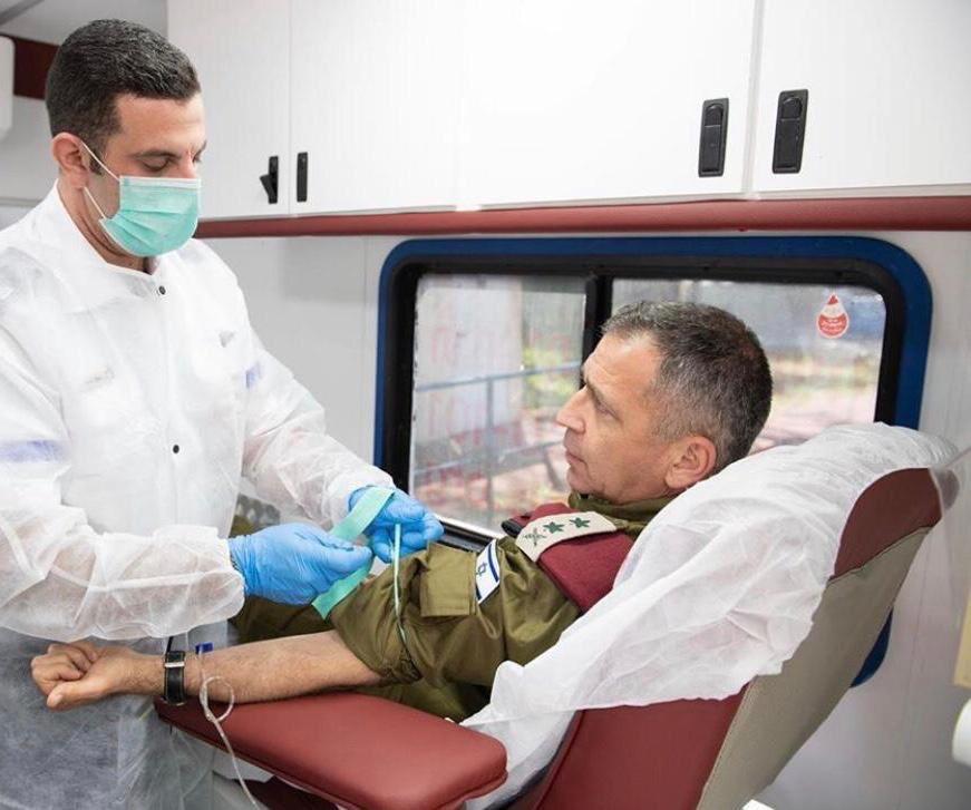 2020 in the IDF so far: 32,809 pints of blood donated. 98,427 lives that could be saved.  And this is just the beginning.  #WorldBloodDonorDay https://t.co/GAdpTt5wWD